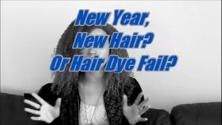 New Year, NEW HAIR? Or Hair Dye FAIL? (Rose Gold Hair)