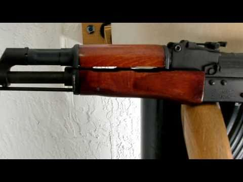 AK-47 WASR-10 Century Arms Refinishing.  final product