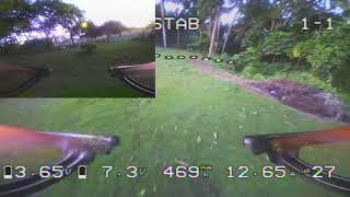 FPV Practice with my Eachine EV100