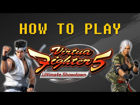 Como jogar Virtua Fighter 5 FS