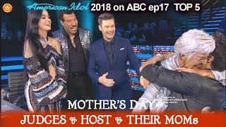 Download Lagu Mother's Day Katy Perry Luke Bryan Lionel & Ryan MOMs -  FULL SEGMENT  American Idol 2018 Top 5 Gratis STAFABAND