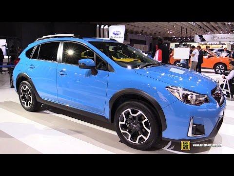 2016 Subaru XV EyeSight - Exterior And Interior Walkaround - 2015 Tokyo Motor Show