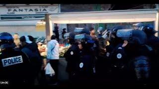 live acte 13 Marseille Balade au Marché avec les Policiers