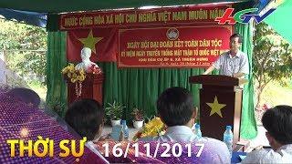 Ngày hội Đại đoàn kết toàn dân tộc năm 2017 tại các địa phương | THỜI SỰ HẬU GIANG - 16/11/2017