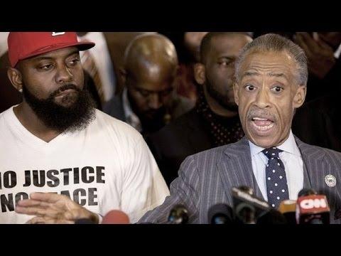 Al Sharpton Slams Ferguson Grand Jury Decision