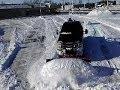 HINIKER 9 SCOOP SNOW PLOW  HEAVY ROLLING!