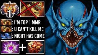 EPIC Pro Nullifier Night Stalker vs TOP 1 MMR Bristleback -40s Dark Ascension New Meta 7.20 Dota 2