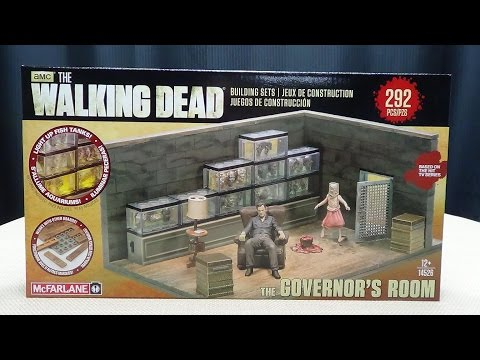The Walking Dead: THE GOVERNOR'S ROOM: EmGo Builds Stuff