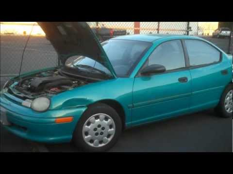 1997 Dodge Neon Channel Introduction. Welcome Everyone!