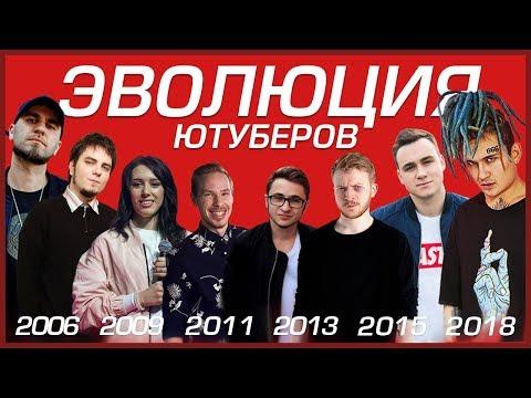 ЭВОЛЮЦИЯ ЮТУБЕРОВ