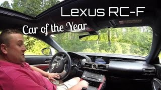 Car of the Year! 2015 Lexus RC-F - HD Drive Review Highlight