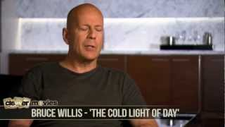 The Cold Light of Day - Bruce Willis Talks 'The Cold Light of Day'