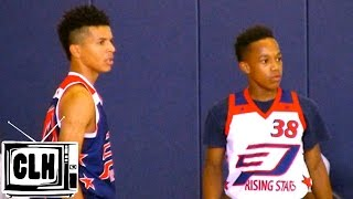 Johnathan McGriff vs Cole Anthony - Crazy Battle - CP3 Rising Stars Camp - CP3RS15