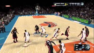 NBA 2k11 My Player - Episode 10 - Struggles against The Heat