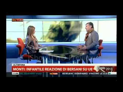 10 febbraio 2013 Luca Romagnoli (Fiamma Tricolore) ospite a SkyTg24.mp4