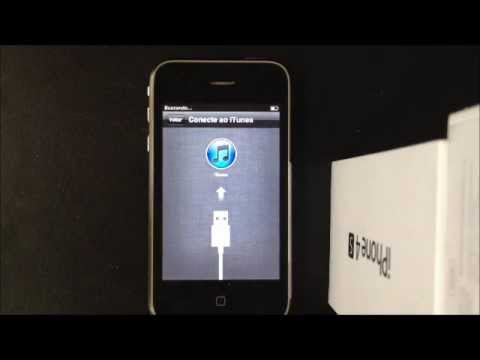 iPhone 3GS iOS 5.1.1 Travado na ativação do iTunes