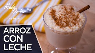 How to Make Arroz con Leche | Rice Pudding | Made To Order | Chef Zee Cooks