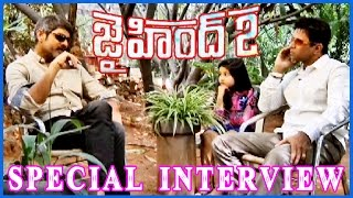 Peralai - Arjun & Jagapathi Babu Jai Hind 2 || Special Interview Part-3 - Surveen Chawla