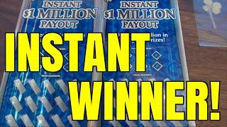 STAR SYMBOL INSTANT $1 MILLION PAYOUT $30 Wisconsin Lottery Scratcher