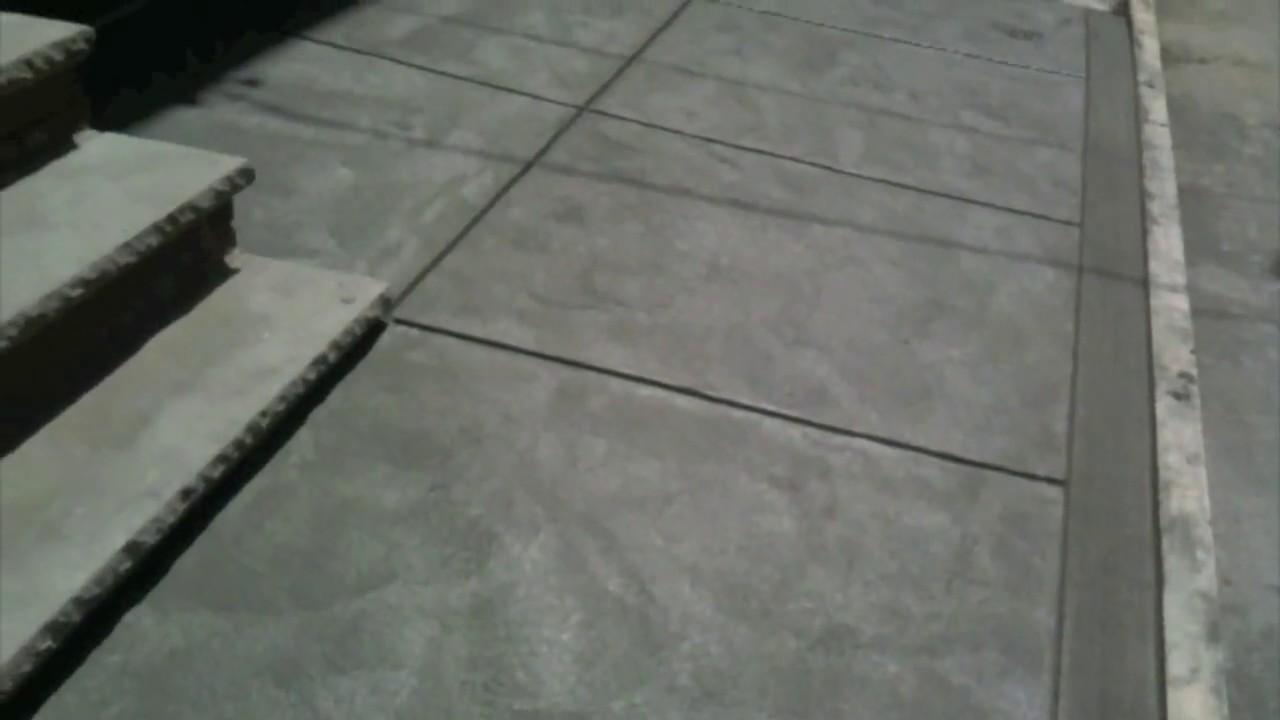 Concrete walkway philadelphia youtube for Removing concrete walkway