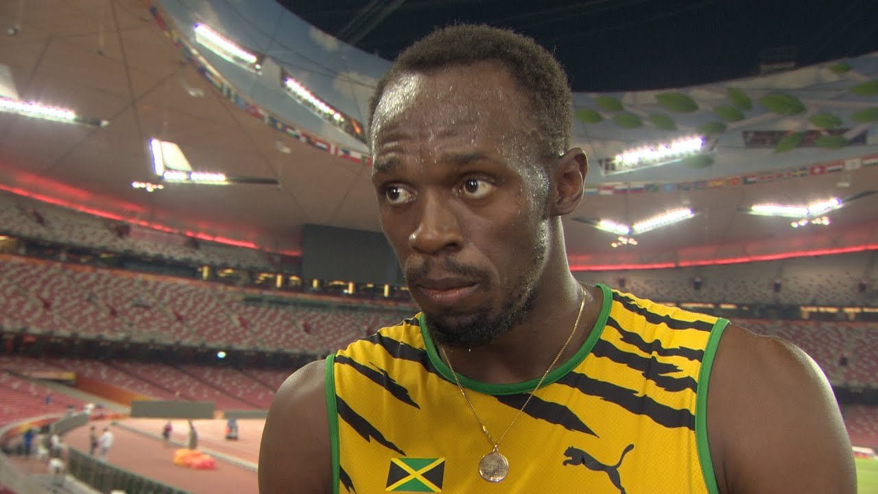 WCH 2015 Beijing - Usain Bolt JAM 200m Final Gold