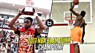 Derrick Jones Jr 2017 NBA Slam Dunk Contest Winner!? He Hasn