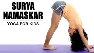 Yoga for Kids - Suryanamaskar