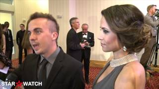 Frankie Muniz Celebrity Fight Night 2013 red carpet interview