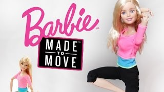 Barbie Made To Move (Pink Top) - Barbie Snodata - Recensione / Review ITA