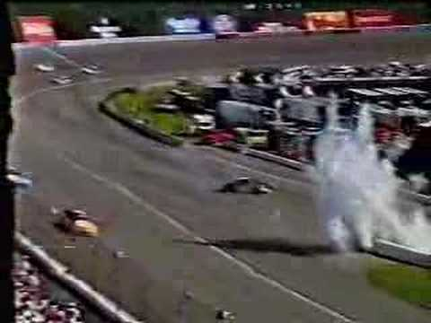 Michael Waltrip Crash Video