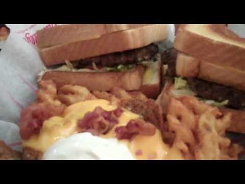Friendly's Grilled Heart Attack on a Plate