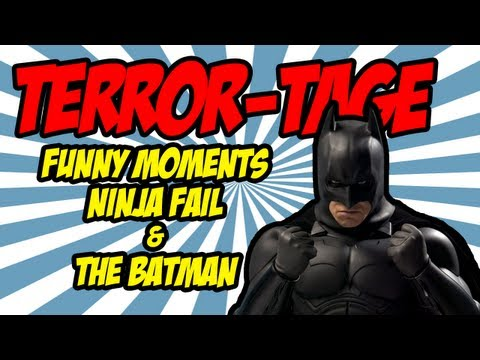 Terror Tage: Funny Moments Stove on Fire and Epic Batman Dark Knight Outro