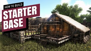 How To Build A Starter Base | Ark Survival Evolved