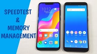 Honor Play vs Asus Zenfone Max Pro M1 Speed Test !