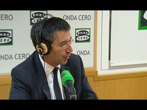 Entrevista a Josep María Bartomeu, presidente del FC Barcelona, en Onda Cero