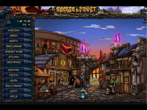 Shakes & Fidget Hack na Grzybki