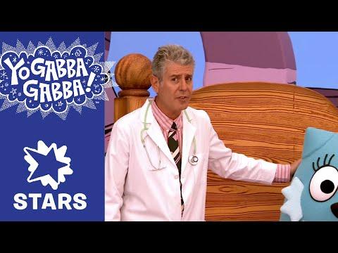 Anthony Bourdain - Doctor Doctor - Yo Gabba Gabba!