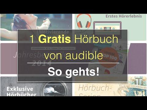 Hörbücher kostenlos? Wie du dir ein Gratis Hörbuch mit Audible sichern kannst - So geht's