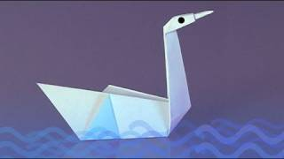 How To Make A Paper Swan, Origami