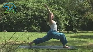 Hatha Yoga for Sadness Relief ~ full class ~37 minutes