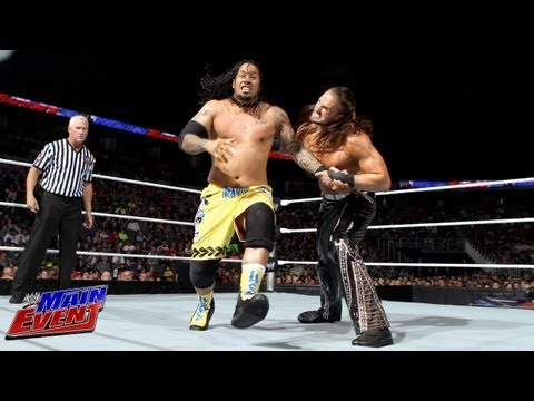 The Usos vs. 3MB: WWE Main Event, May 22, 2013
