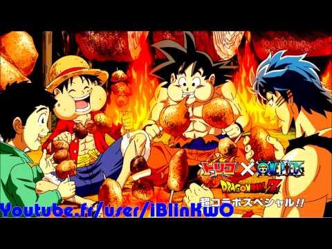 Dragon Ball Z x One Piece x Toriko Full Special Review - Torki vs Luffy vs Goku