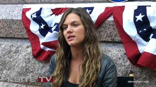 Revolution: Tracy Spiridakos Interview (Feb. 2014)