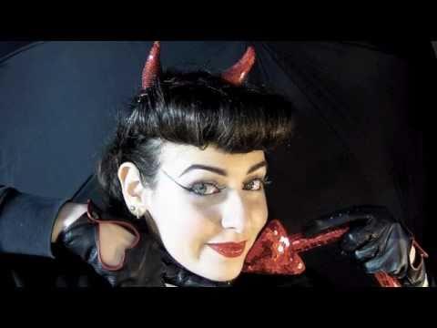 Devil Halloween Makeup For Women Halloween Little Devil Makeup