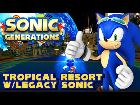 Sonic Generations PC - (1080p) Tropical Resort Level Mod
