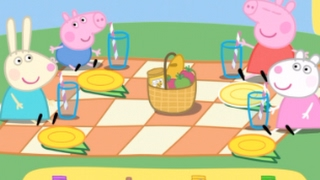 NEW! Fun with Peppa Pig picnic & bicycle - best app videos for kids