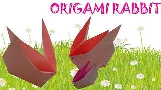 Origami Easy - Origami Rabbit Tutorial