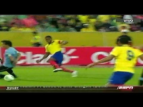 Ecuador venci a uruguay y puso un pie en el mundial for Mueblerias famosas