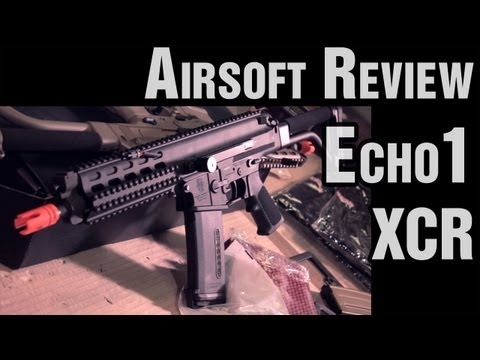 Echo1 USA Robinson Arms XCR - Airsoft Review