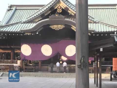 Japanese lawmakers visit war-linked Yasukuni shrine